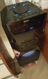 Torre Sony MHC V3 está novinha