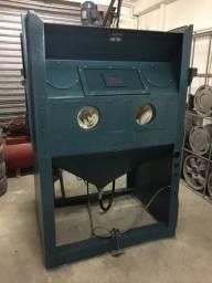 Cabine para jateamento