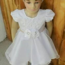 Vestido de festa infantil tamanho 1 ano