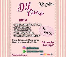 """Kit Festa """"Promocao"""""""