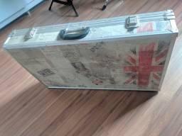 Título do anúncio: Case Luxo 70x40x13 Pedalboard rock britânico