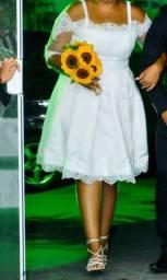 Vestido de noiva usado apenas 1 vez