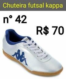 Chuteira kappa futsal 42