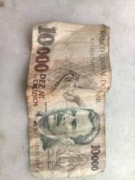 10.000 cruzeiro vendo 100 reais aceito ofertas