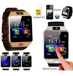 Relógios Smart Watch Q18/D09 GSM CHIP SIM BRINDE 1 RELOGIO ELETRONICO ULTIMAS FOTOS