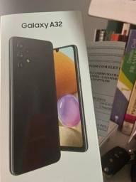 Samsung Galaxy A32 Preto 128Gb, 4GB Ram - Lacrado c/ nota e garantia 1 ano da Samsung