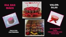 Dia das mães/Bolo Kitkat