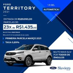 Ford Territory SEL 1.5 Turbo AT 2021 - 0Km - Polyanne *