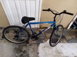 Bicicleta aro 26 e 6 marchas