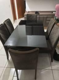 Mesa de Jantar 06 Cadeiras