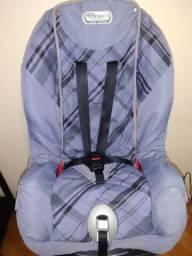 Cadeirinha para carro Burigotto até 25kg reclinável e higienizada