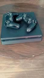 Vendo PS4 500gb semi novo !!! ( R$1.700 )