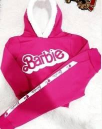 Moletom barbie e da now  infantil