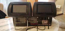 Par de Headrest TFT LCD monitor 7 polegadas