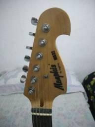Guitarra Starto Memphis MG32 + Capa + Jogo de cordas novo e regulagem