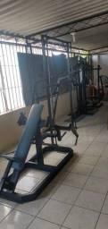 Conjunto de máquinas fitness profissional