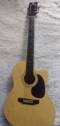 Violão eletroacústico aço - Harmonics GE21-NT - Natural