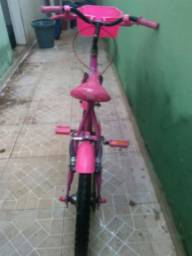 Bicicleta infantil feminina Fadinha Kairu
