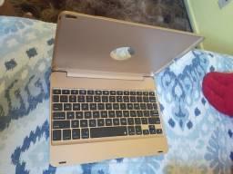 Capa case teclado Bluetooth ipad ..nunca usada