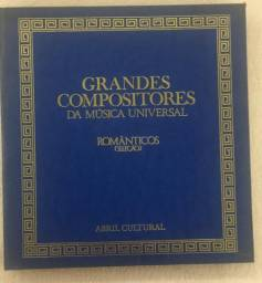 Lps Grandes Compositores Da Música Universal - Raridade!!!!
