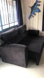 Sofá Retrátil reclinável 180cm