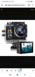 Câmera Filmadora Sport 4k Ultra Hd Estilo Gopro<br><br><br>