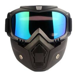 Mask face,  para capacete de moto ( óculos e proteção)
