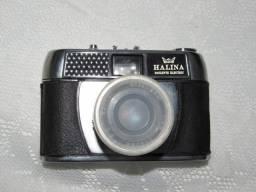 Máquina antiga fotográfica Halina Paulette
