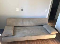Sofá-cama super moderno em perfeito estado