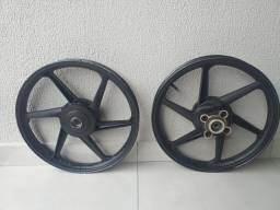 Roda Scud da Honda 125.
