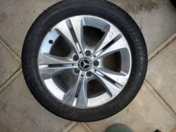 Vende-se Jogo de roda da Mercedes 225/50R17