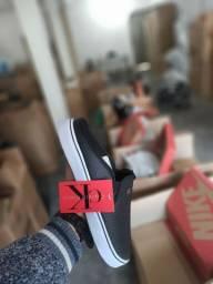 Título do anúncio: Mule Calvin Klein Primeira Linha na Caixinha Atacado