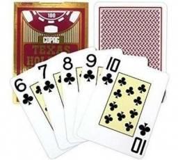 Baralho Copag Texas Holdem Preto Ou Vermelho - Taramho Regular Poker