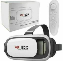 Título do anúncio: Realidade Virtual 3d Android Io Controle Óculos Vr Box