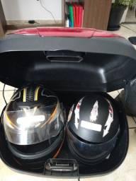 Baú bauleto para 2 capacetes