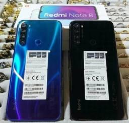 (NOVO) Redmi Note 8, 64 G, 4 G de RAM, câmera 48 mp.