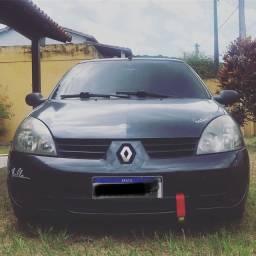 Renault Clio sedan 2007 completo rebaixado e legalizado - 2021 pago leiam