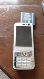 Nokia N73 com bateria e carregador