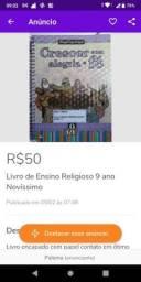 Livro de Ensino Religioso 9 ano Novíssimo