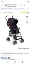 Cadeira de passeio infantil