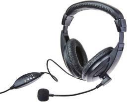 Fone De Ouvido Headset Giant Usb Multilaser - PH245 - Novo- Garantia