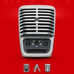 Microfone condensador shure mv51