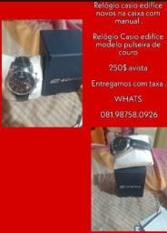 Relógios Casio Edifice original com manual!