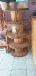 Carreteis de madeira
