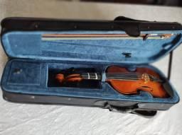 Violino 1/2 Zion Primo Madeira Maciça - Marca Plander - NOVO