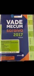 Vade Mecum Saraiva 2017 - novo sem uso