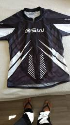Camisa ciclismo masculina tamanho M