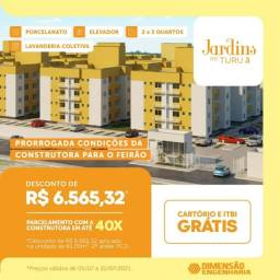 Título do anúncio: A= Jardins do Turu III, Avenida General Arthur de Carvalho - Turu, São Luís - MA - Turo