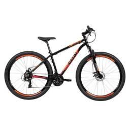 Bicicleta MTB Caloi Vulcan Aro 29 - Susp Diant - Quadro 15 - 21 Vel - Freio a Disco