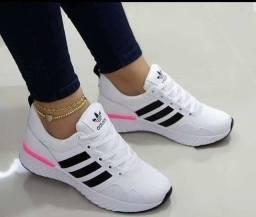 Líquida tênis Adidas e nike esportivo ( 120 com entrega)